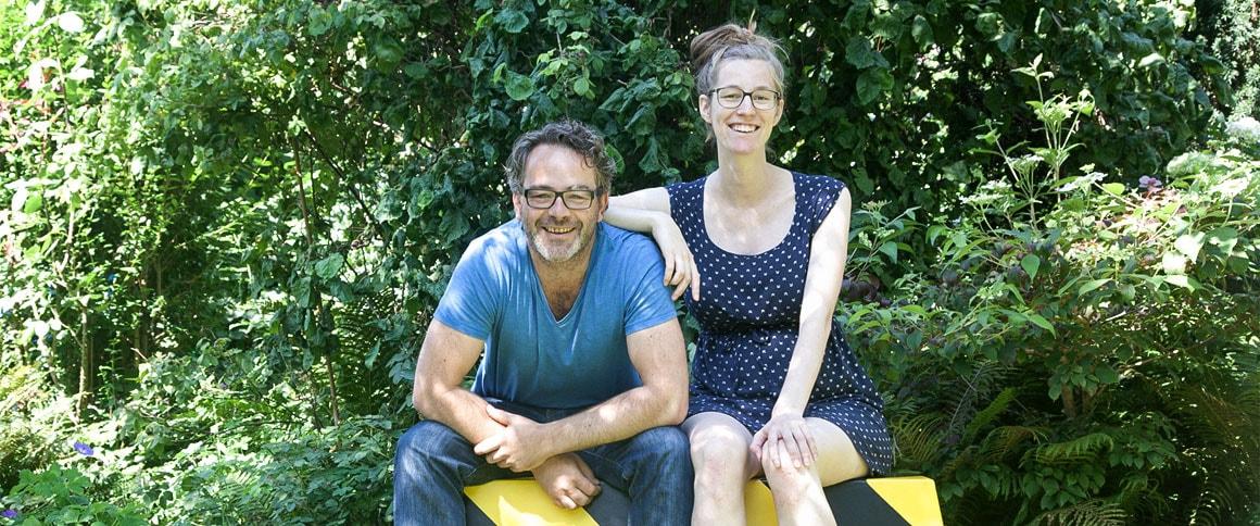 Andree Weissert und Mia Grau